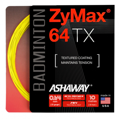 Zymax 64 TX Badminton String - Badminton Warehouse