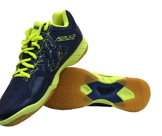 Yonex Aerus2 MX Men's Badminton Shoe-Navy Blue - Badminton Warehouse