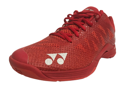 Yonex Aerus 3 MX Badminton Shoe - Red - Badminton Warehouse