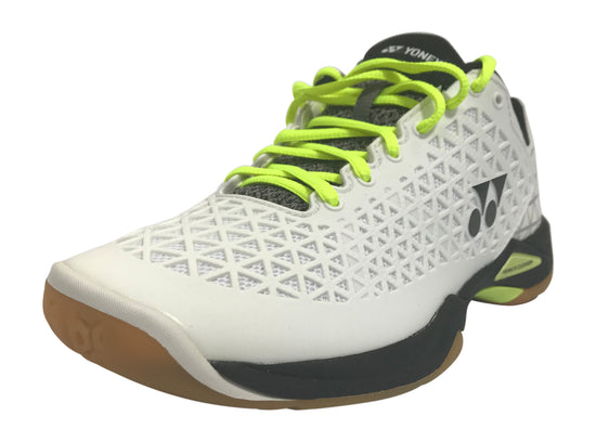 Yonex Power Cushion Eclipsion X Unisex Badminton Shoe (White/Black) on sale at Badminton Warehouse