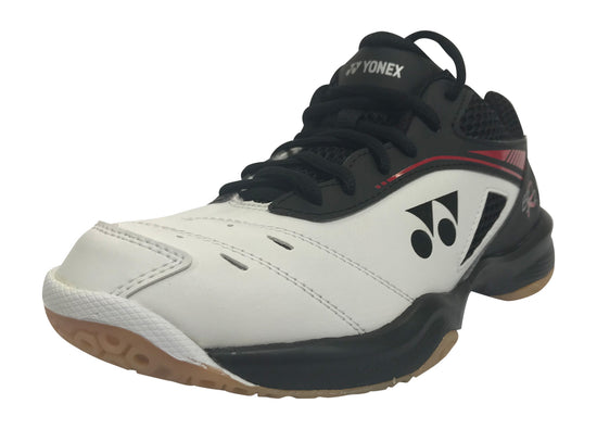 YONEX  POWER CUSHION SHB 65 R2 Badminton shoes in White red and Black color on sale at Badminton Warehouse.  Get one today