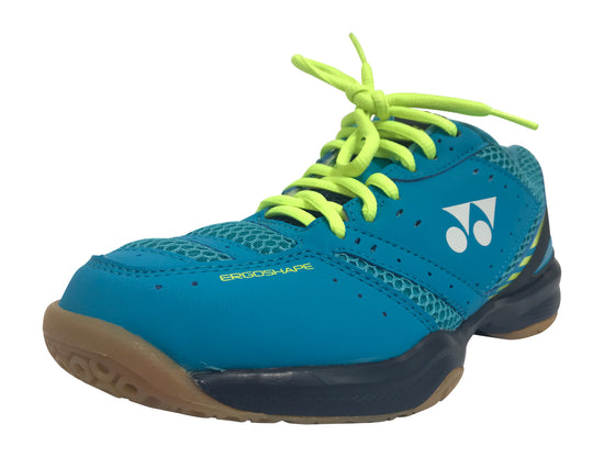 Yonex Power Cushion 30 Unisex badminton shoe in blue color on sale at Badminton Warehouse