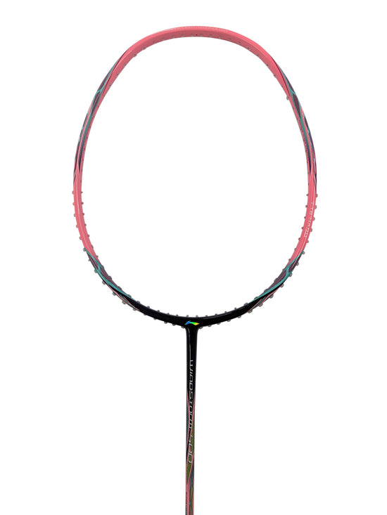 Li-Ning Windstorm 500 Badminton Racket in pink on sale from Badminton Warehouse