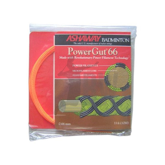 Ashaway Powergut 66 Badminton String - Badminton Warehouse