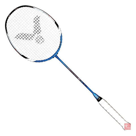 Victor Bravesword 12 Badminton Racket (Royal Blue) - Badminton Warehouse