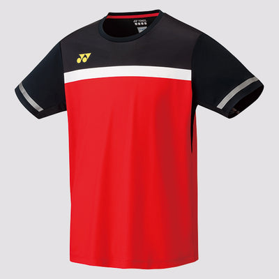 Yonex 10284 Badminton Shirt (Fire Red) at Badminton Warehouse