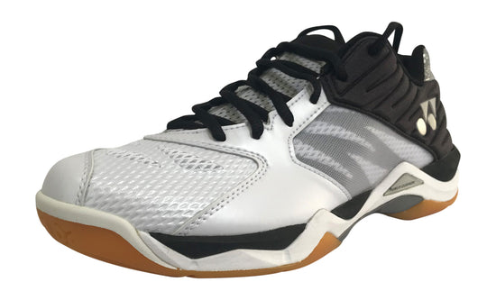 Yonex Power Cushion Comfort Z MX badminton shoe in white and black color on sale at Badminton Warehouse