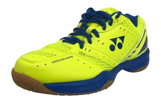 Yonex SHB-PC30 Unisex Badminton Shoe -Yellow/Blue - Badminton Warehouse