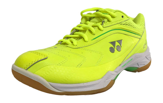 Yonex PC 65 Wide Badminton shoes in yellow color on sale at badminton warehouse