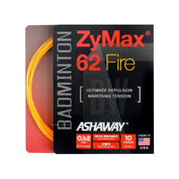 Ashaway ZyMax 62 Fire (0.62mm) Badminton String - Badminton Warehouse