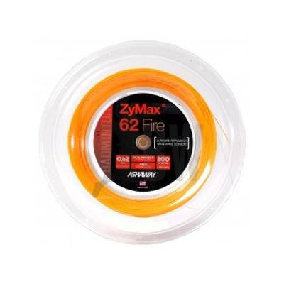 Ashaway ZyMax 62 Fire (0.62mm) Badminton String Reel (Orange or White) - Badminton Warehouse