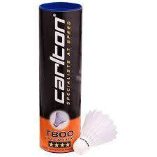 Carlton T800 Nylon Shuttlecock (White) - Badminton Warehouse