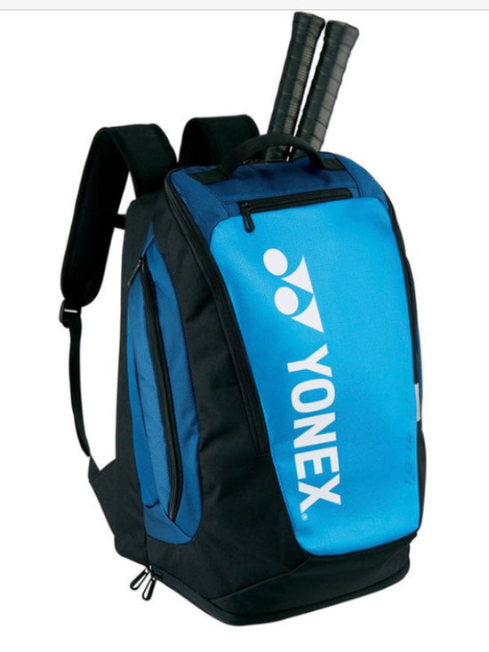 yonex BA92012M PRO BACKPACK in Blue at Badminton Warehouse