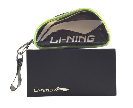 Li Ning Badminton Mini Bag in green and black color available on sale at Badminton Warehouse