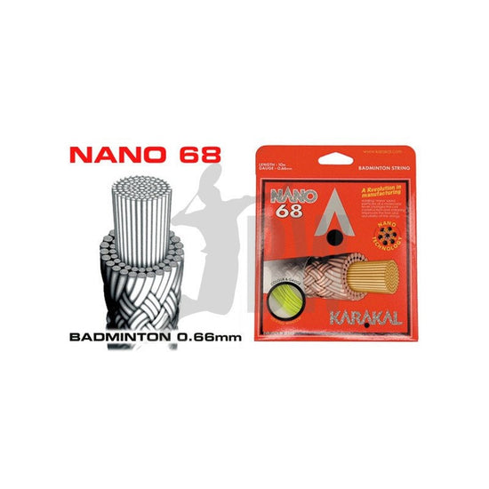 Karakal Nano 68 Badminton String - Badminton Warehouse