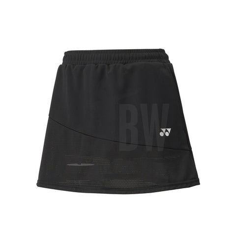 Yonex 26020 Women's Tournament Skort (Black)