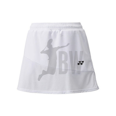 Yonex 26020 Women's Tournament Skort (White) - Badminton Warehouse