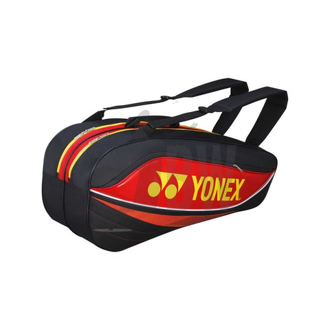 Yonex 7526 Badminton Bag (Red/Black) - Badminton Warehouse