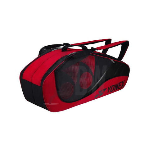 Yonex 8326 Badminton Bag 2013 (6 Racket) (Red)