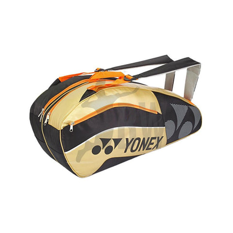 Yonex 8526 Badminton Bag (Black/Gold)