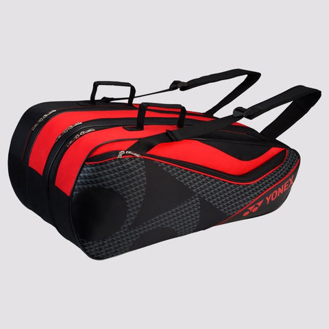 Yonex 8729 Badminton Bag-Black Red