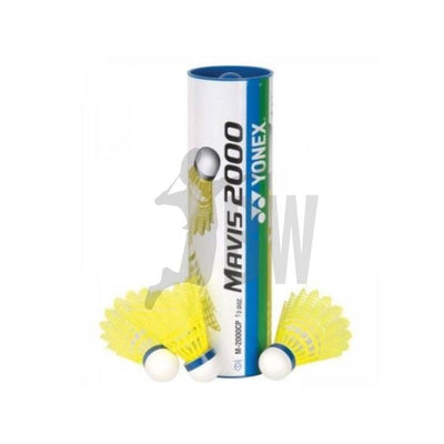 Yonex Mavis 2000 Nylon Shuttlecocks (Yellow Medium Speed) - Badminton Warehouse