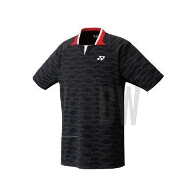 Yonex Men's Polo Shirt (Black) - Badminton Warehouse