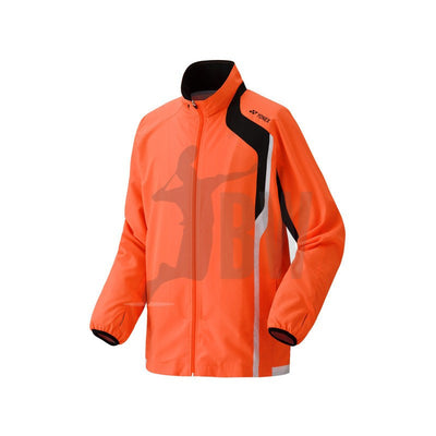Yonex Men's Warm Up Jacket (Orange) - Badminton Warehouse