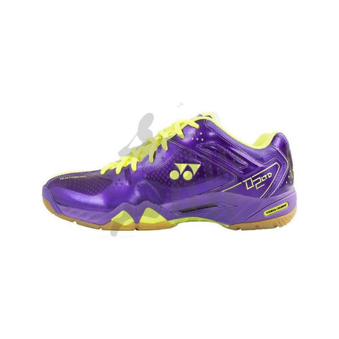 Yonex SHB 02 Limited Edition Badminton Shoe Purple Yellow