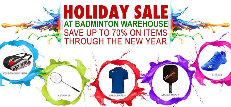 Holiday Sale at Badminton Warehouse