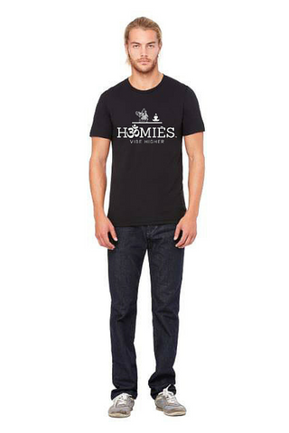 Hॐmies Men's yoga tee Black