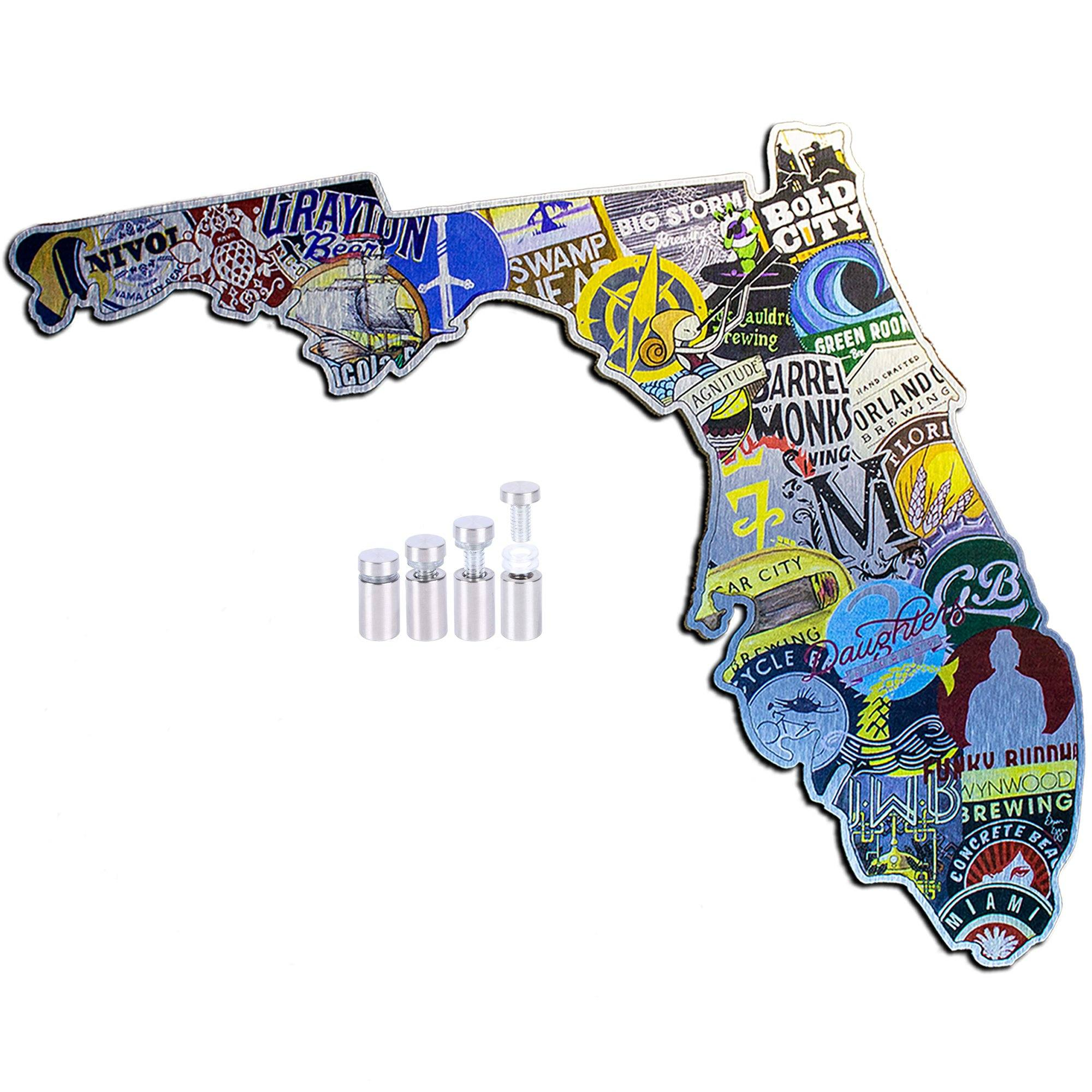 """The ALEigator State"" - FL Cutouts"