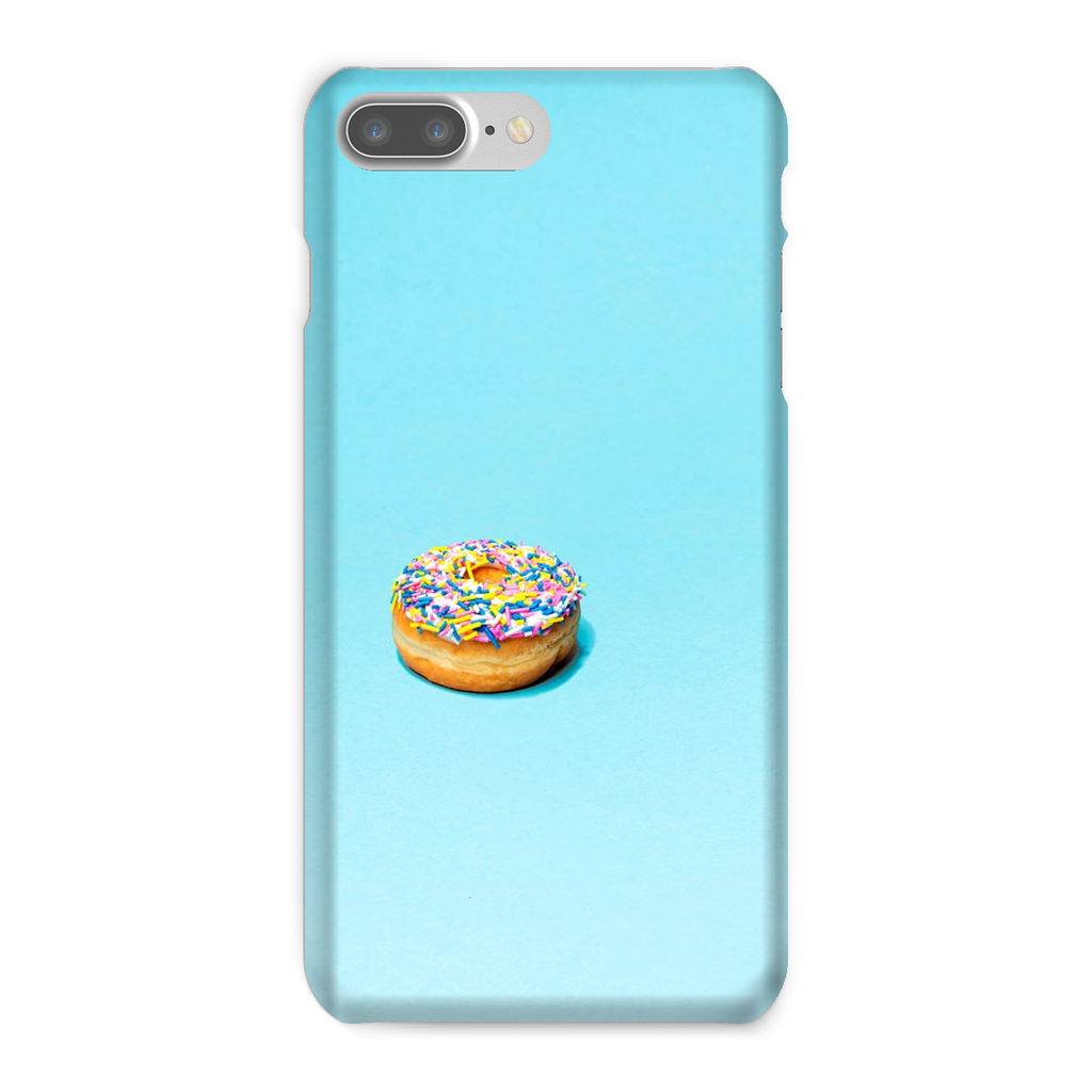 Blue Phone Case with Donut
