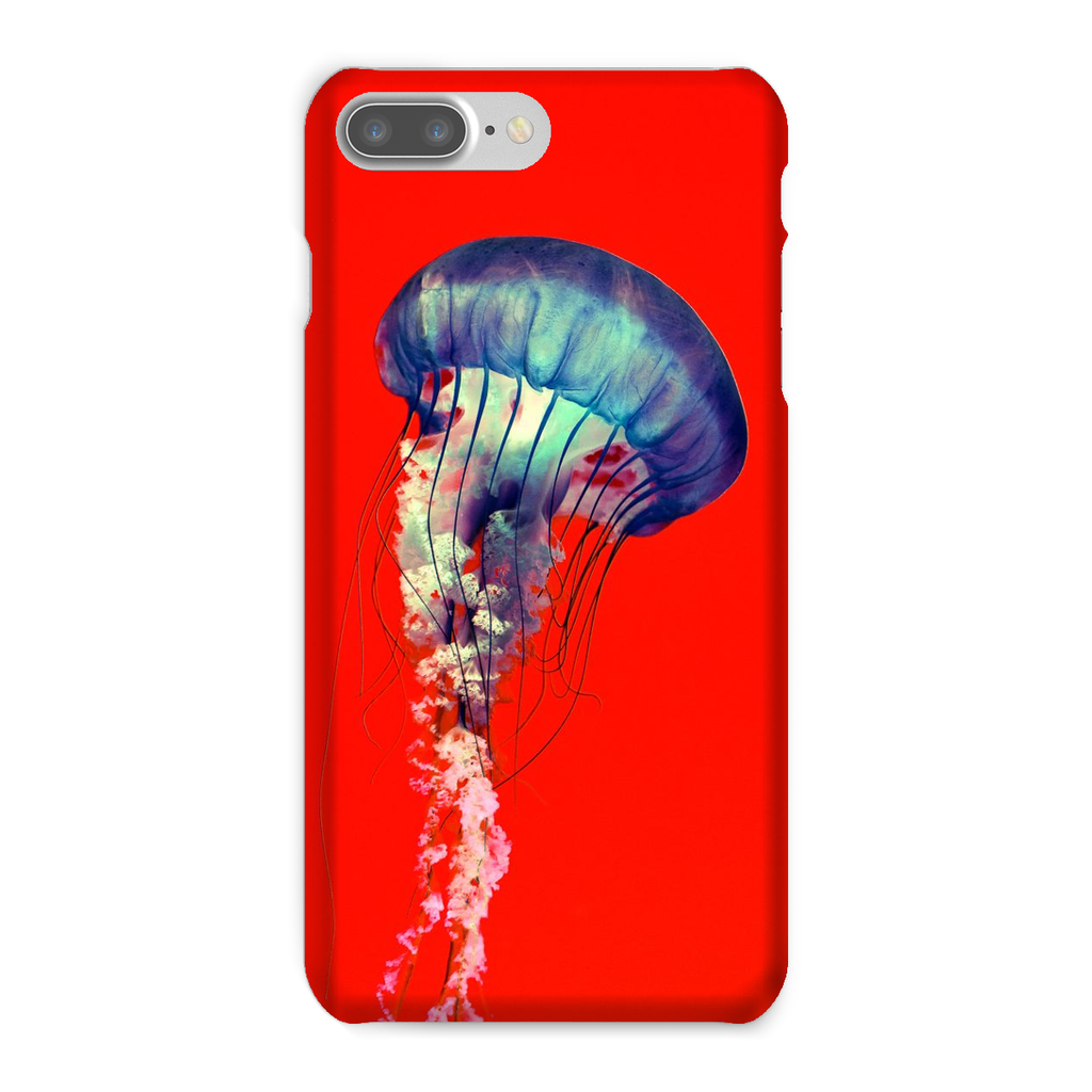 Red Jelly Fish Phone Case