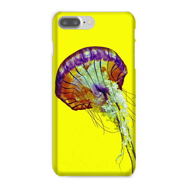 Yellow Jelly Fish Phone Case