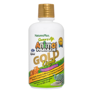 Animal Parade® GOLD Liquid - Childrens Multi - Tropical Berry