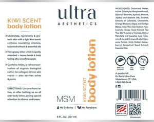 MSM Body Lotion - 8oz