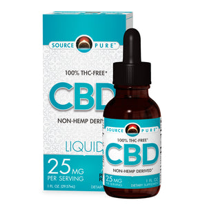 CBD Oil- Non-Hemp Derived Liquid 1oz - 25mg CBD Oil