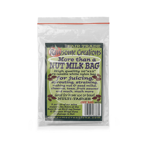 Rawsome Creations More than a Nut Milk Bag