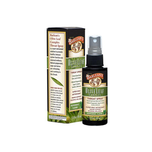 Olive Leaf Complex Throat Spray Peppermint Flavor