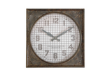 Warehouse Clock with Grill