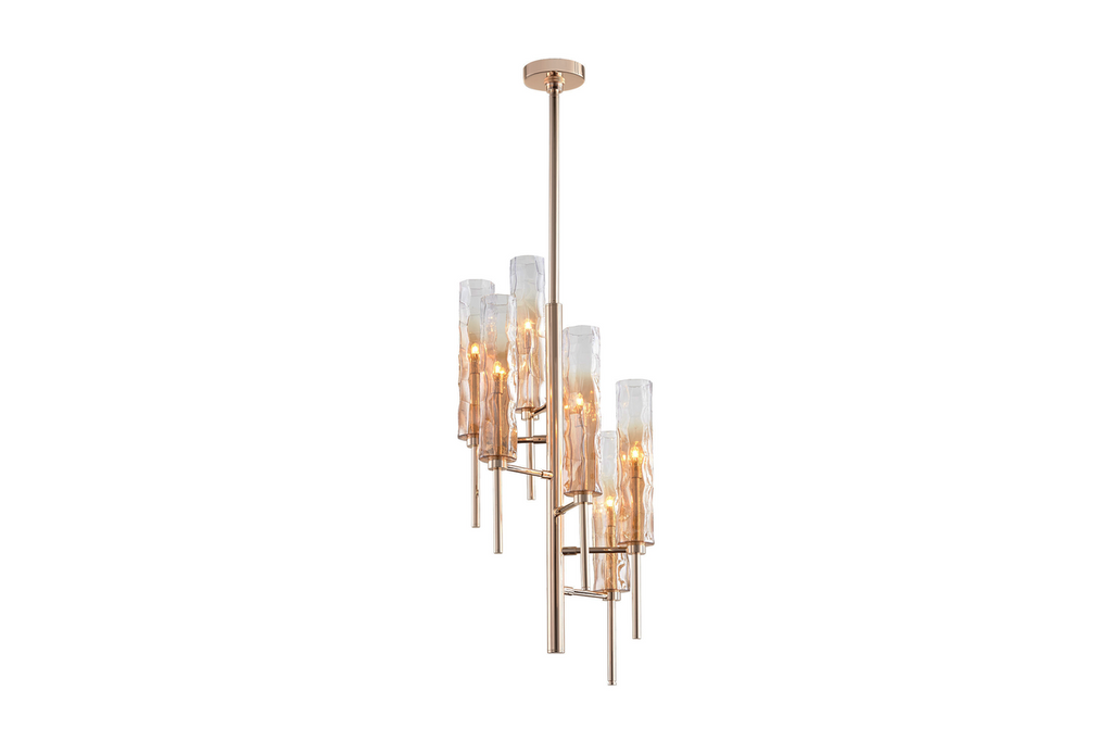 Balanchine Chandelier, 6 Lts.