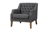 Dossier Grey Club Chair