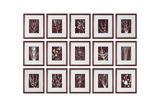 Abstract Marsala, Set of 15