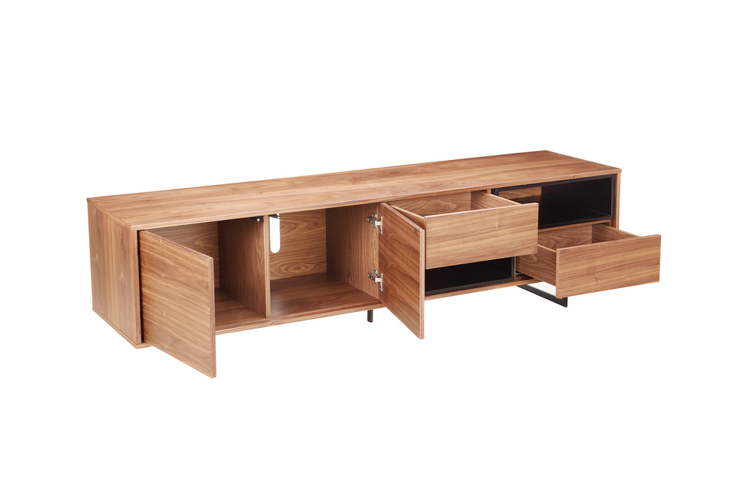 Gavin Entertainment Unit Walnut