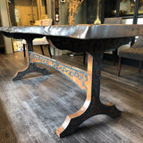 Oak & Iron Table