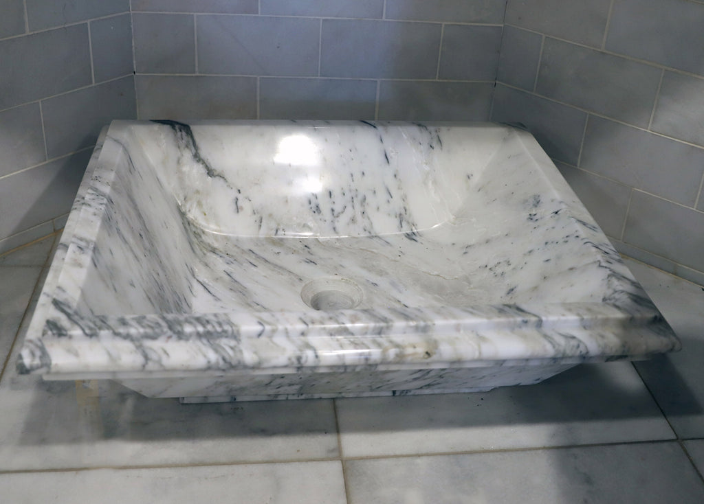 Rectangle Marble Sink