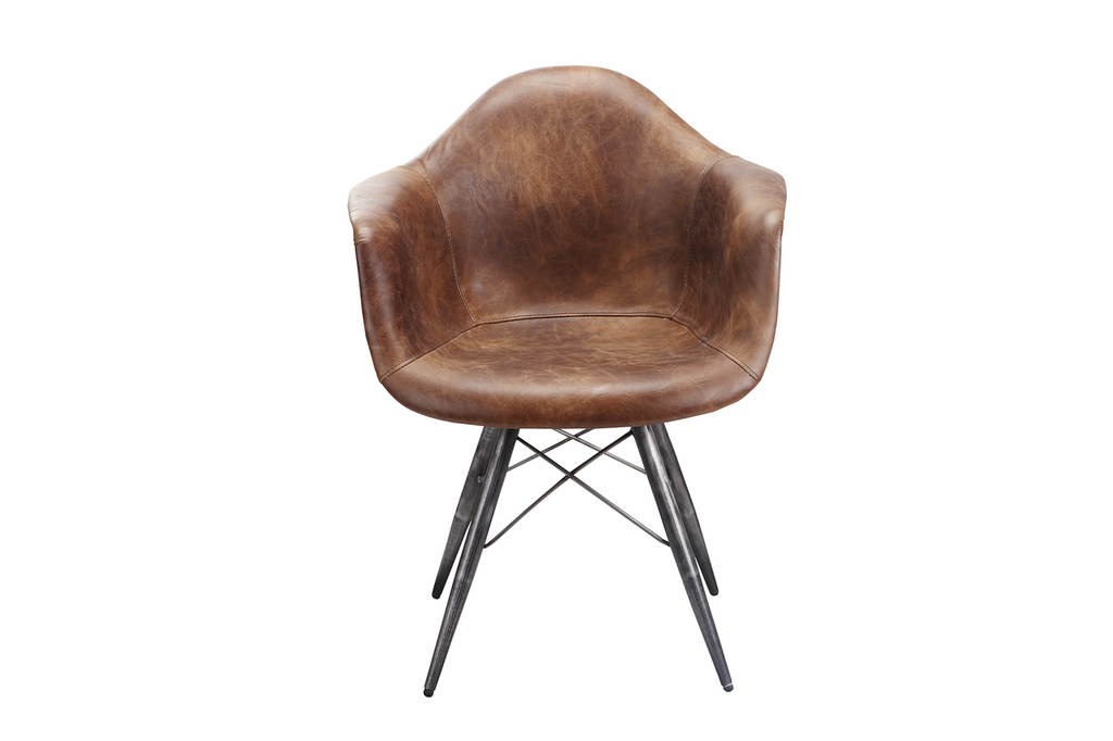 Flynn Club Chair Light Brown