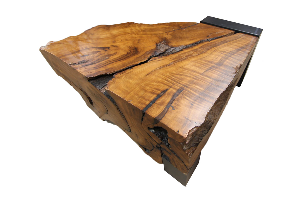 Reclaimed Redwood Table
