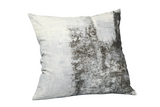 Abstract Velvet Cushion W/ Feather Insert